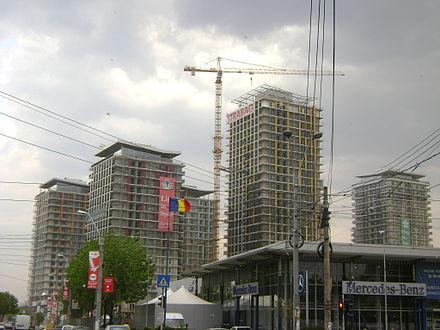 Asmita  Gardens under construction in  April 2009