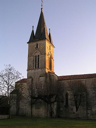 Asnières-la-Giraud - The Church bell tower