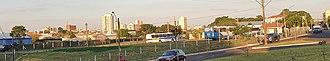 Assis - Assis skyline at Nove de Julho Avenue