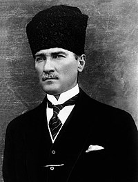 That's right, it's Ataturk!