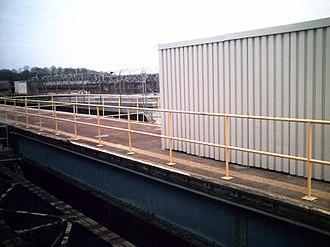 Atlantic Avenue (BMT Canarsie Line) - Unused Dual Contracts-era eastern platforms