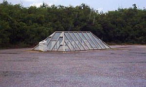 Tinian - The atom bomb pit on Tinian's North Field, where Little Boy was loaded aboard the Enola Gay.