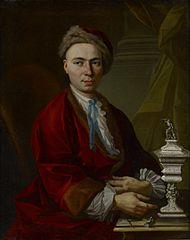 Portrait of the Silversmith Johann Friedrich Baer