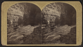 Au Sable Chasm, Running the Rapids, by Stoddard, Seneca Ray, 1844-1917 , 1844-1917.png