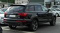 Audi Q7 3.0 TDI clean diesel quattro S-line (Facelift) – Heckansicht, 15. Mai 2011, Wuppertal.jpg