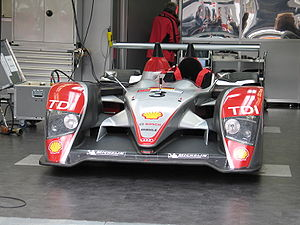 Audi R10 TDI - One of three Audi R10s at the 2007 24 Hours of Le Mans