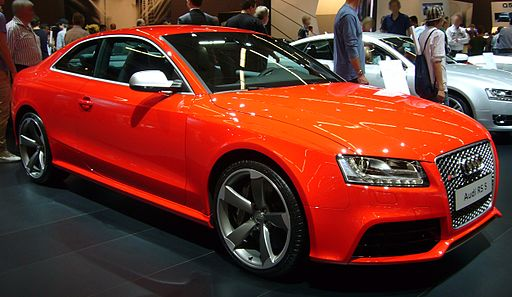 Audi RS5 (front quarter)