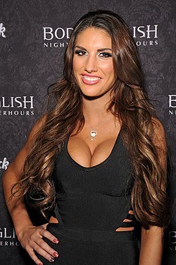 August Ames Las Vegasissa 2014 AVN Adult Entertainment Expossa.