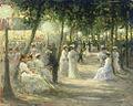 Auguste-Michel Nobillet - Une soirée d'été au Champs Elysées.jpg