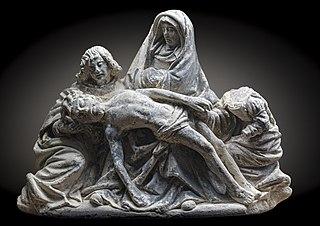 Pietà avec Jean et Marie Madeleine