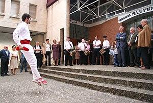 Basque dance - A Basque Dancer