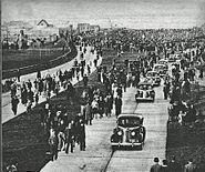 Av General Paz inauguración 1941