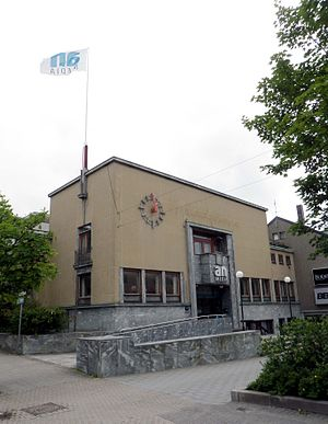 Avisa Nordland - Former (in use until autumn 2013) headquarters of Avisa Nordland in Bodø