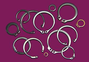 Retaining ring - Axially installed retaining rings