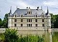 Azay-le-Rideaux Château d'Azay-le-Rideau Südseite 3.jpg