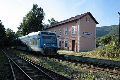 How to get to Bílý Potok Pod Smrkem with public transit - About the place