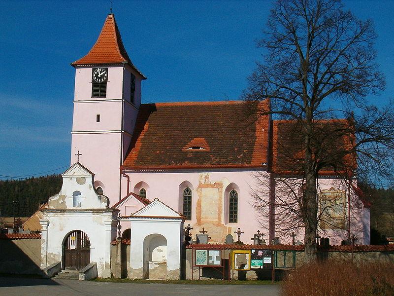 kostel sv. Jakuba Většího v Bílsku