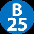 B-25 station number.png