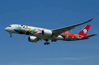 Sichuan Airlines - Sichuan Airlines took delivery of their first Airbus A350 XWB in August 2018
