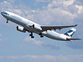 B-HLS - A330-343X - Cathay Pacific - Brisbane (8093594377).jpg