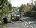 B3355 looking south crossing Thicketmead Bridge - geograph.org.uk - 1538947.jpg