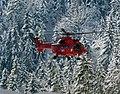 BGL, Hubschrauber bläst Schnee ab, 3.jpeg