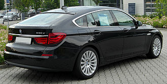 BMW 5 Series (F10) - 5 Series Gran Turismo- rear