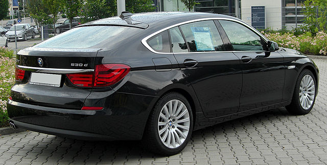 file bmw 530d gt f07 rear wikimedia commons. Black Bedroom Furniture Sets. Home Design Ideas