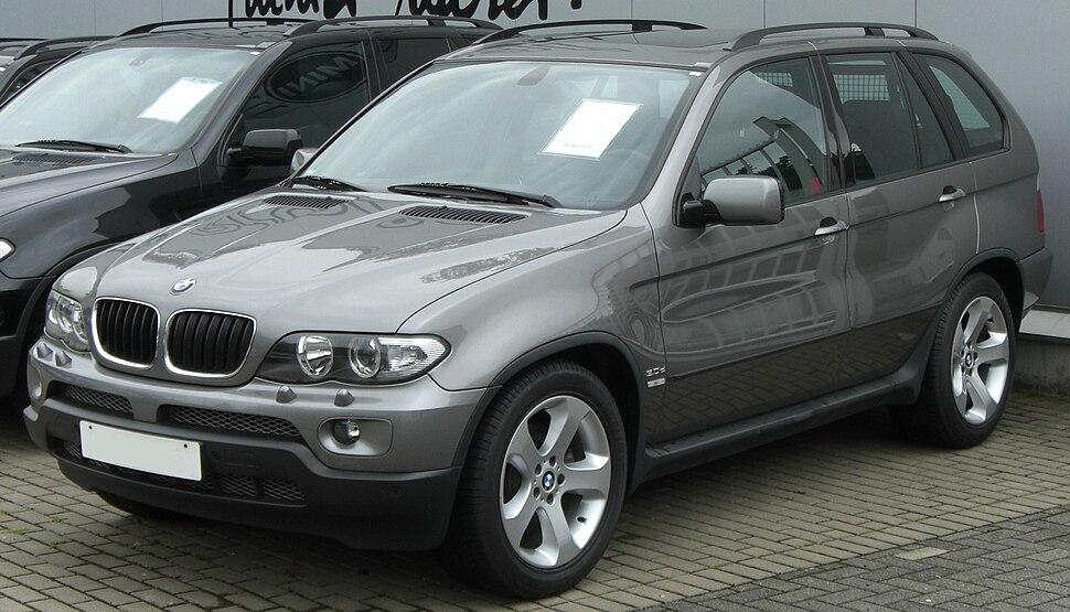 BMW X5 3.0d (E53) front