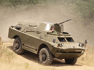 Reconnaissance vehicle - Variants of the Soviet BRDM series remain in service with many countries.