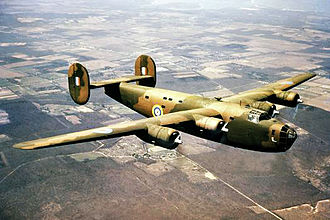 31 Squadron SAAF - Consolidated Liberator similar to that flown by the squadron in the Mediterranean in 1944 and 1945