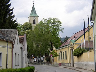 Bad Fischau-Brunn - Image: Bad Fischau Thermalbad Kirche