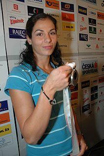 Kateřina Baďurová Czech athlete coach, olympionic and pole vaulter