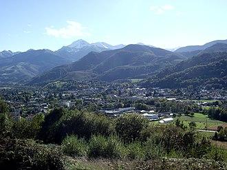 Bagnères-de-Bigorre - A general view of Bagnères-de-Bigorre