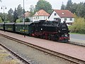 Bahnhof Moritzburg, 99 1761-8 mit Zug (0).jpg