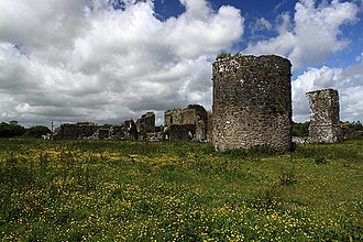 Canons Regular - Ballybeg Priory, founded in 1229 by Philip de Barry for the Canons Regular of St Augustine
