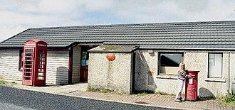 Baltasound - Baltasound Post Office, the most northerly in the UK