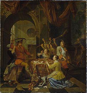Balthasar van den Bossche painter from Antwerp
