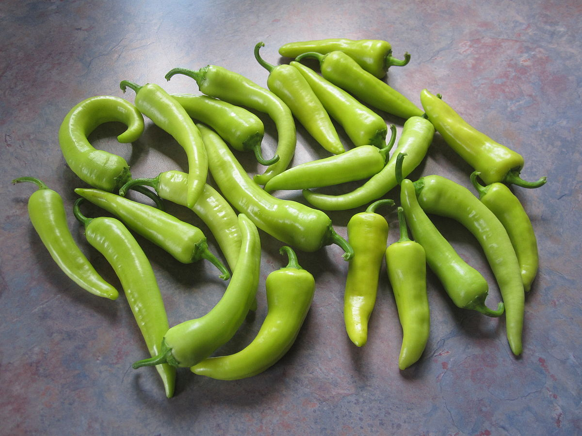 Banana pepper - Wikipedia