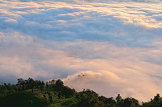 Hill station - Bandarban District, Bangladesh.