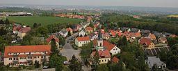 view over Bannewitz