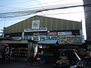 Paombong, Bulacan - Public market