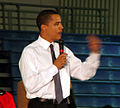 Barack Obama at Monmouth University, West Long Branch, NJ.jpg