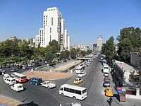 Barada River and Four Seasons Hotel in Damascus.jpg