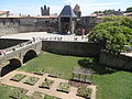 Barbican and bridge of Château de Carcassonne - 2014 - 02.JPG