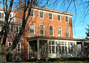 National Register of Historic Places listings in eastern Chester County, Pennsylvania - Image: Barclay West Chester PA