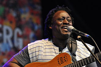 Habib Koité - Habib Koité 2014 at the Bardentreffen music festival in Nuremberg