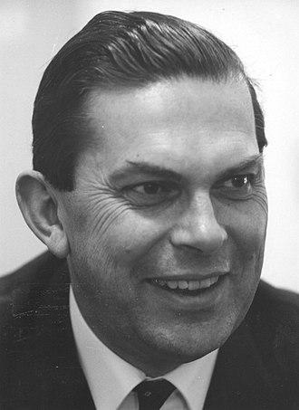 Dutch general election, 1963 - Barend Biesheuvel