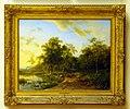 Barend Cornelis Koekkoek (1903-1862), Zomerlandschap, 1830, Olieverf op doek.JPG