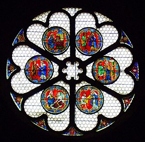 Works of mercy - The six Corporal Works of Mercy, Freiburg Minster, ca. 1230